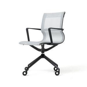 Liberty 4 razze, Chaise de bureau avec assise et dossier en r�sille