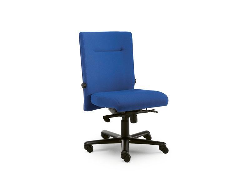 Non Stop task 24hc 51102, Chaise de bureau recouvert de tissu, sans accoudoirs