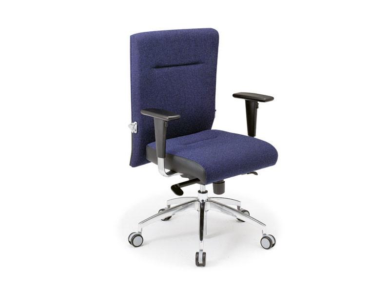 Non Stop task 24hc 51120, Chaise de bureau recouvert de tissu