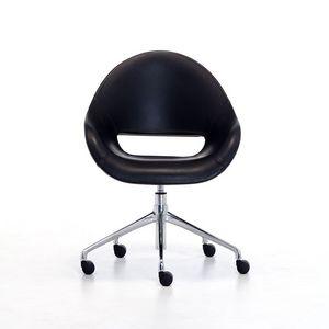 Palm HO, Fauteuil rembourré confortable pour bureau à domicile avec des proportions généreusement