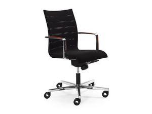Sentrum 05/2A, Chaise de bureau, réglable en hauteur et le dossier