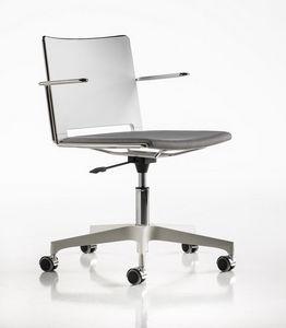 Slim gas, Chaise idéal pour les salles de réunion et comme chaise de bureau