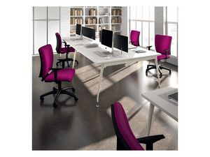 Sprint 17975-N, Chaise de bureau op�rationnel avec accoudoirs r�glables