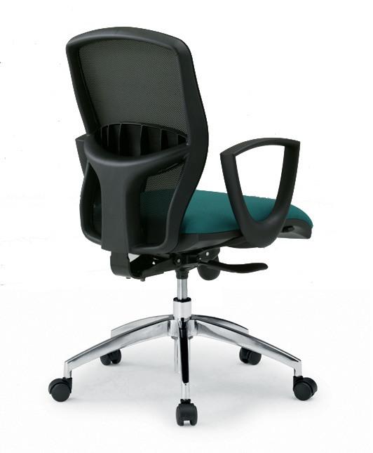 Sprint RE 179282R, Chaise de bureau avec siège rembourré et dossier en maille