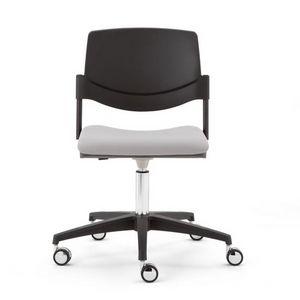Sunny New 5 rayons, Chaise sur roulettes avec vérin à gaz