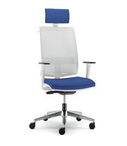 UF 432 / A, Chaise pour bureau avec roues, avec différents réglages