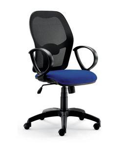 UF 457, Chaise de bureau, avec un nouveau design, avec accoudoirs circulaires