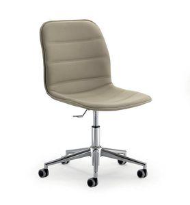 UF 593 / B, Chaise de bureau à roulettes