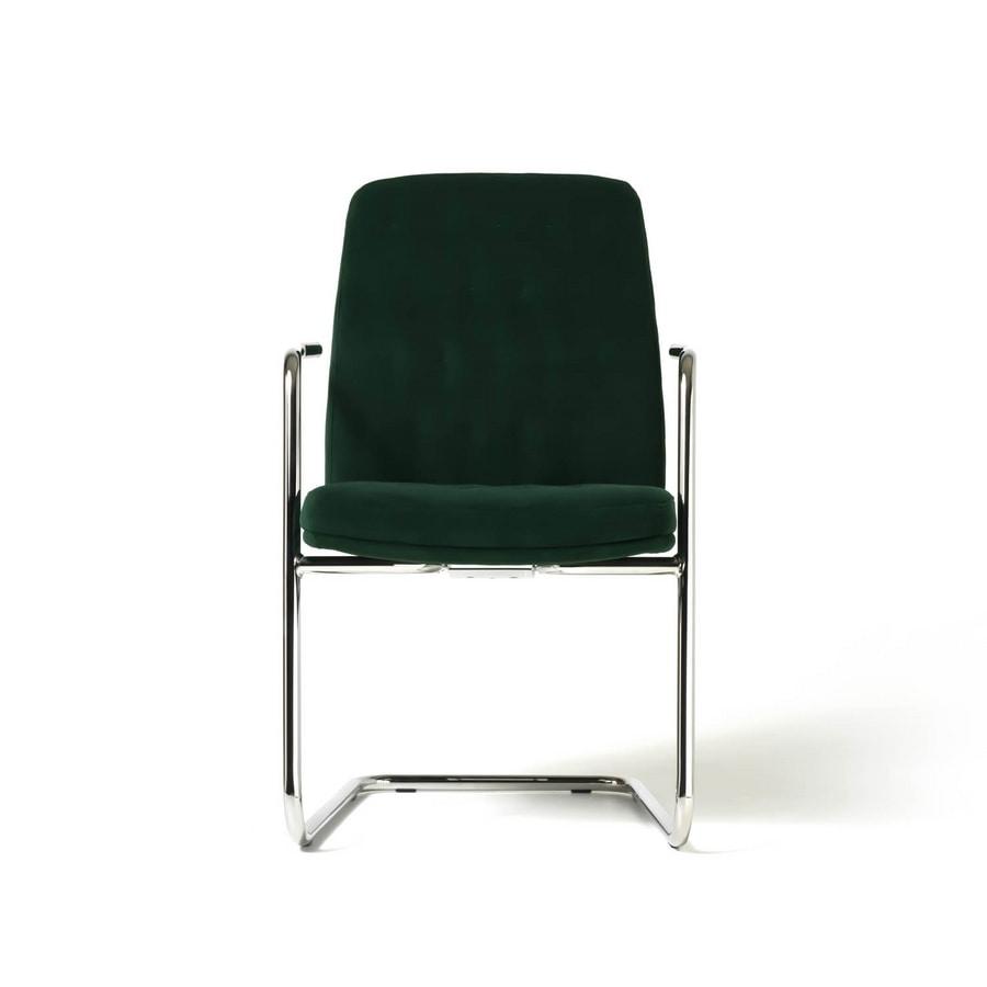 Artu visiteurs, Chaise visiteur pour le bureau moderne, avec luges