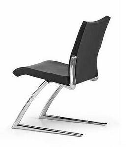 AVIA 4050, Chaise visiteur avec assise et dossier rembourrés, pour le bureau