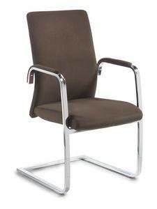 Line visiteurs, Chaise pour le bureau, avec piètement cantilever