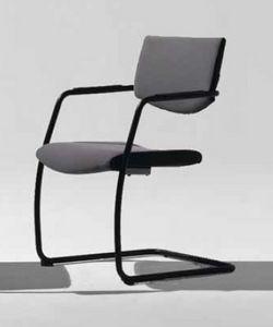 Lora-V, Chaise en porte-à-faux pour les visiteurs de bureau