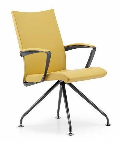 AVIA 4085, Chaise rembourrée avec accoudoirs, pour salle de réunion