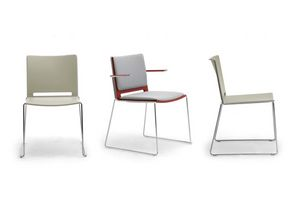 iLike, Chaise empilable, style moderne