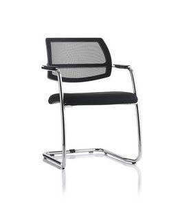Jazz, Chaise luge avec structure en métal pour salle d'attente