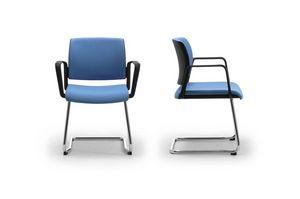 Wiki relax, Invité chaise de bureau avec assise et dossier en résille