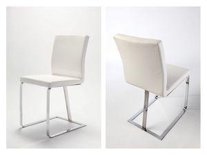 Linea, Chaise moderne, luge d'origine, pour un usage résidentiel