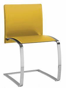 Zen chaise 10.0130, Chaise visiteur avec piètement cantilever