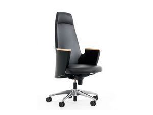 AMADEUS FIRST CLASS, Chaise de bureau de direction prestigieuse