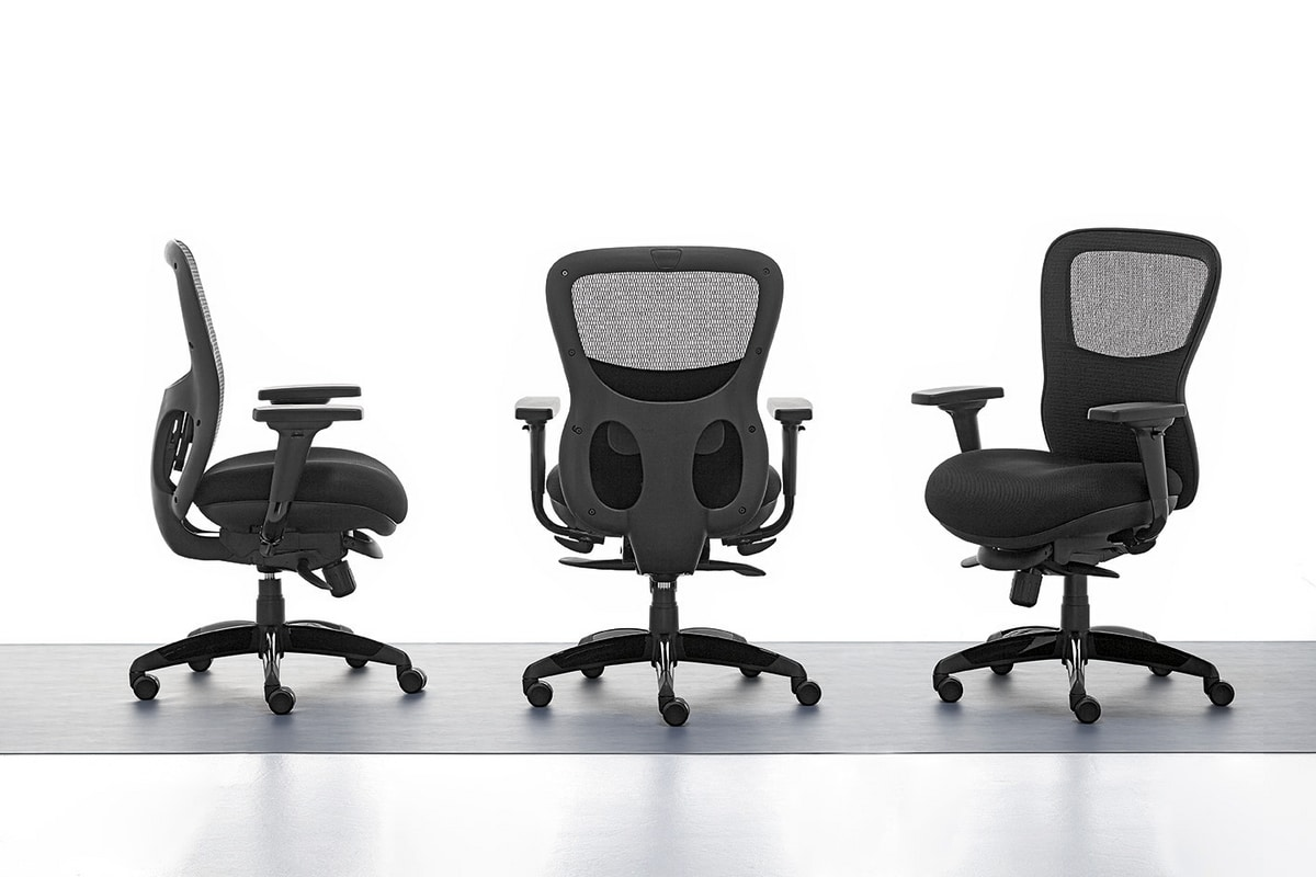 Athos 01, Directionnelle chaise de bureau, siège de contreplaqué intérieur