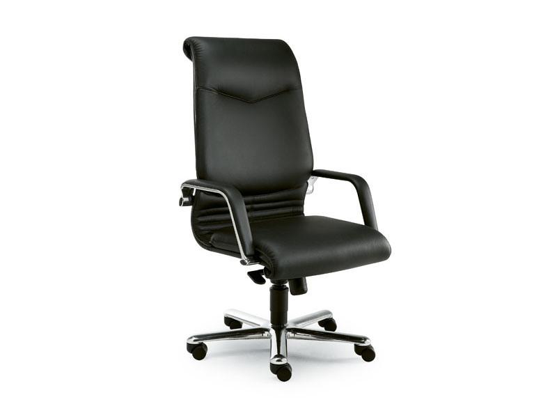 Elegance high executive 2812, Présidentielle chaise de bureau recouvert de cuir