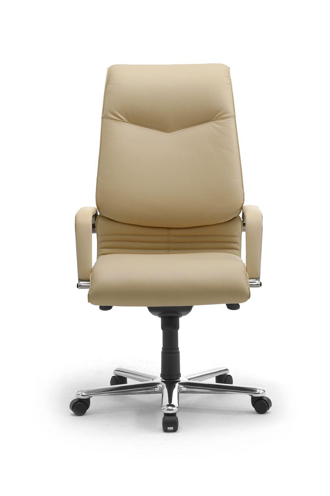 Elegance high executive 2826, Fauteuil de bureau présidentiel, tapissé en cuir