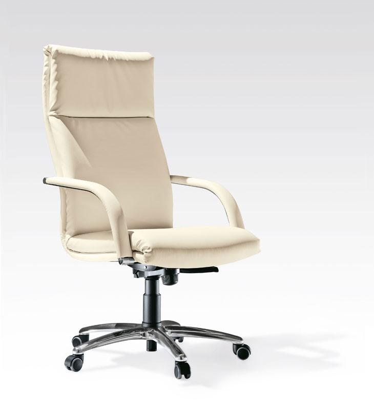 Klassic, Chaise de bureau exécutif, réglable en hauteur
