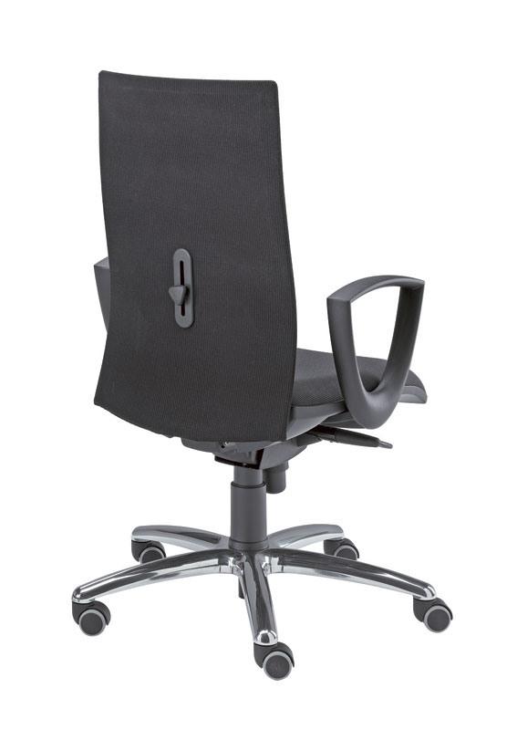 Kroma, Chaise pivotante de l'opérateur, couverte en différentes couleurs
