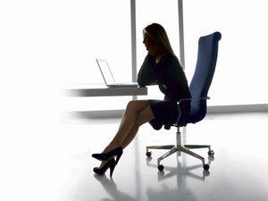 Liz présidentielle, Chaise de direction à haut dossier, pour la réception