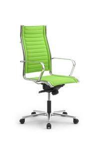Origami TD high executive 70010, Chaise pivotante sur roulettes, réglable en hauteur, pour bureaux