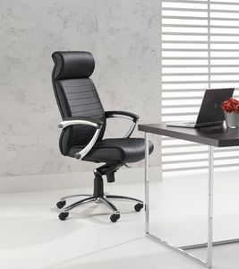 Plus, Chaise haute pour le bureau directionnel, accoudoirs réglables