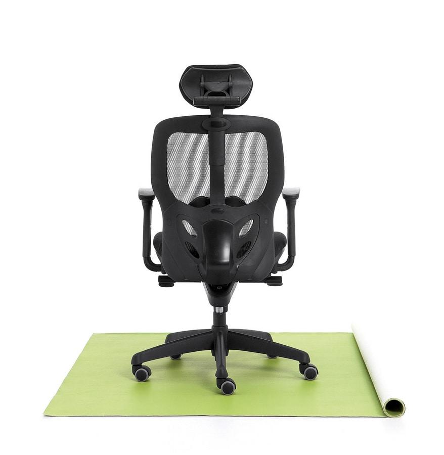 Tempo 01, Chaise de bureau, siège rembourré, résille
