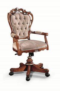 Art. 527g, Chaise de bureau classique avec dossier touffeté