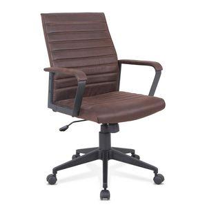 Fauteuil fauteuil ergonomique de bureau faux cuir, Fauteuil ergonomique avec éco-cuir, robuste, pour bureau