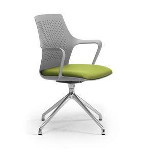 Ipa 4 spokes, Chaise pivotante pour le bureau