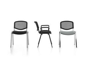 Leo Air, Chaise empilable pour la communaut�, non-pieds en caoutchouc antid�rapants