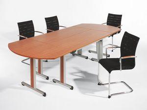 Sentrum 05/1A, Chaise empilable avec accoudoirs, pour les salles et les bureaux réunion