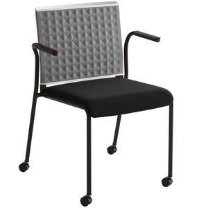 Teckel T B R, Chaise de bureau avec accoudoirs