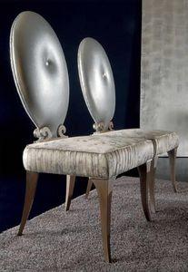 283S, Chaise classique avec dossier ovale