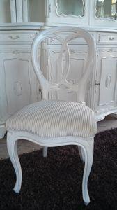 300 CHAISE, Chaise sans accoudoirs, style classique