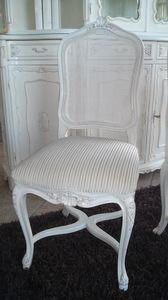 3310 CHAISE LUIGI XV, Chaise avec dossier canne, Louis XV