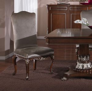 3625 CHAISE, Chaise de style classique adapté à la salle à manger