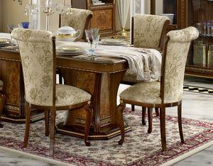 Aida chaise, Chaise de salle à manger de style classique