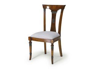 Art.186 chair, Salle à manger chaise, assise et dossier en bois