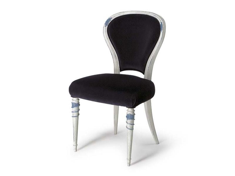 Art.188 chair, Chaise pour salles à manger avec dossier rembourré
