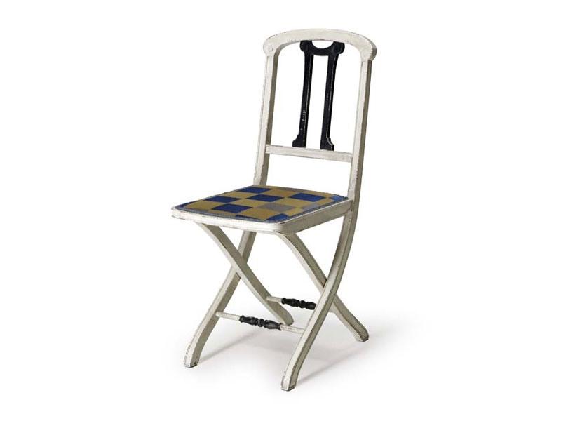 Art.192 chair, Chaise pliante en bois, style classique