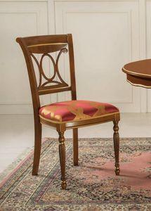 Art. 3506, Chaise de salle à manger avec assise rembourrée
