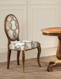 Art. 3544, Chaise avec dossier ovale