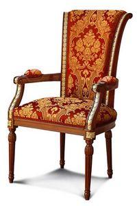 Art. 457/C, Chaise de salle à manger avec dossier haut