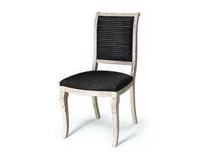 Art.466 chair, Chaise pour salles à manger sans accoudoirs, style classique
